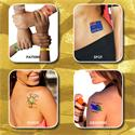 Prism Foil Temporary Tattoos®